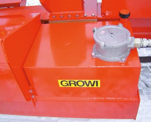Waagrechtspalter große Stämme GROWI - GSW 40 F 2700