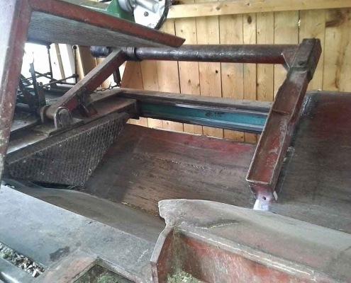 Schneller Waagrechtspalter Schichtholz